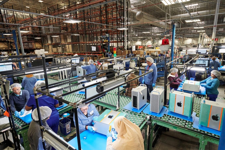 Mac Proを製造するAppleのオースティン工場