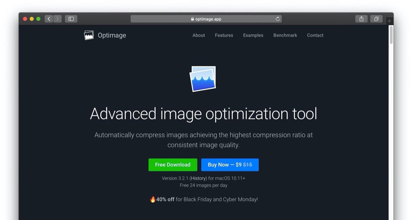 Optimage Advanced image optimization tool