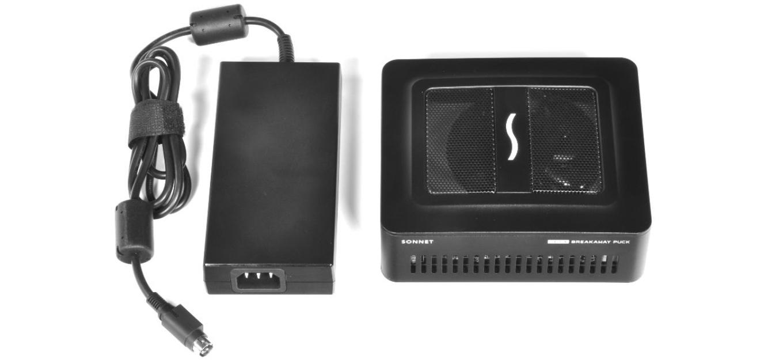 eGFX Breakaway Puck Radeon RX 570の新しい電源アダプタ