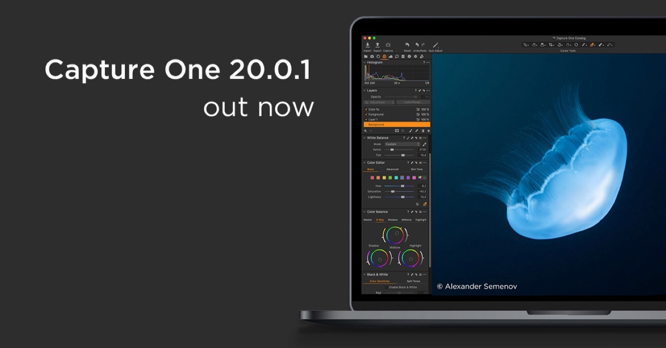 Capture One v20.0.1