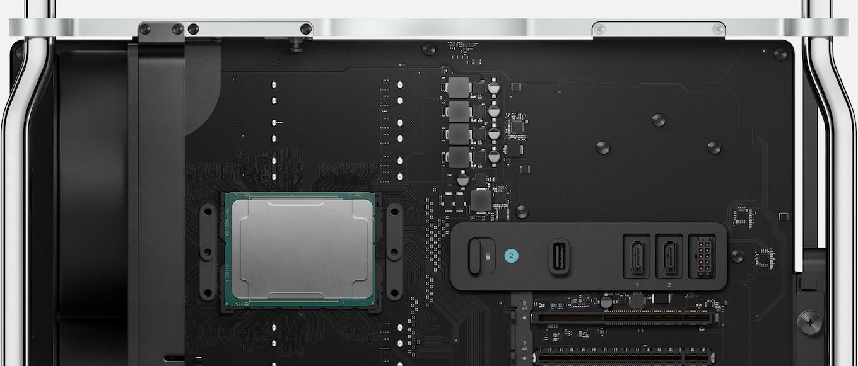 Mac Pro (2019)プロセッサ