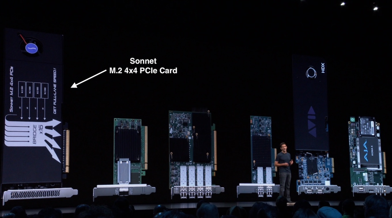 Sonnet M.2 4x4 PCIe Card for Mac Pro (2019)