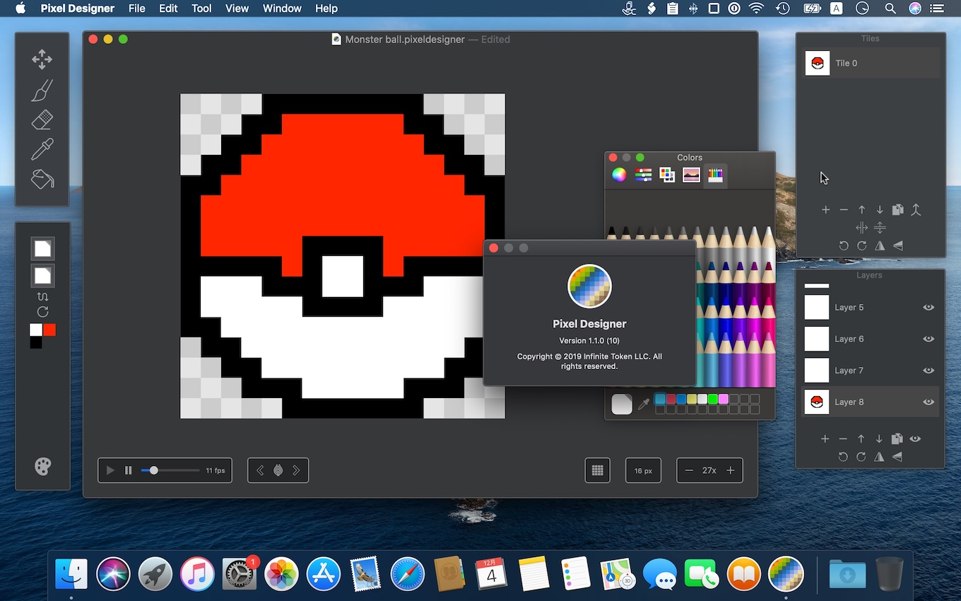 Pixel Designer for Mac