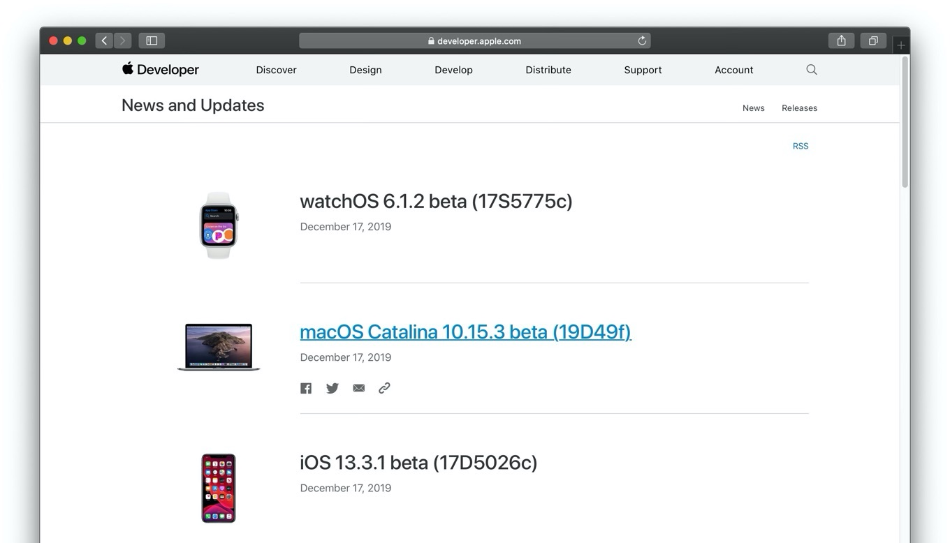 macOS Catalina 10.15.3 beta 19D49f