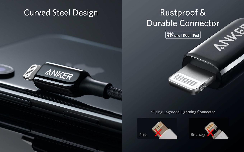 Anker PowerLine+ III USB-C & ライトニング ケーブル