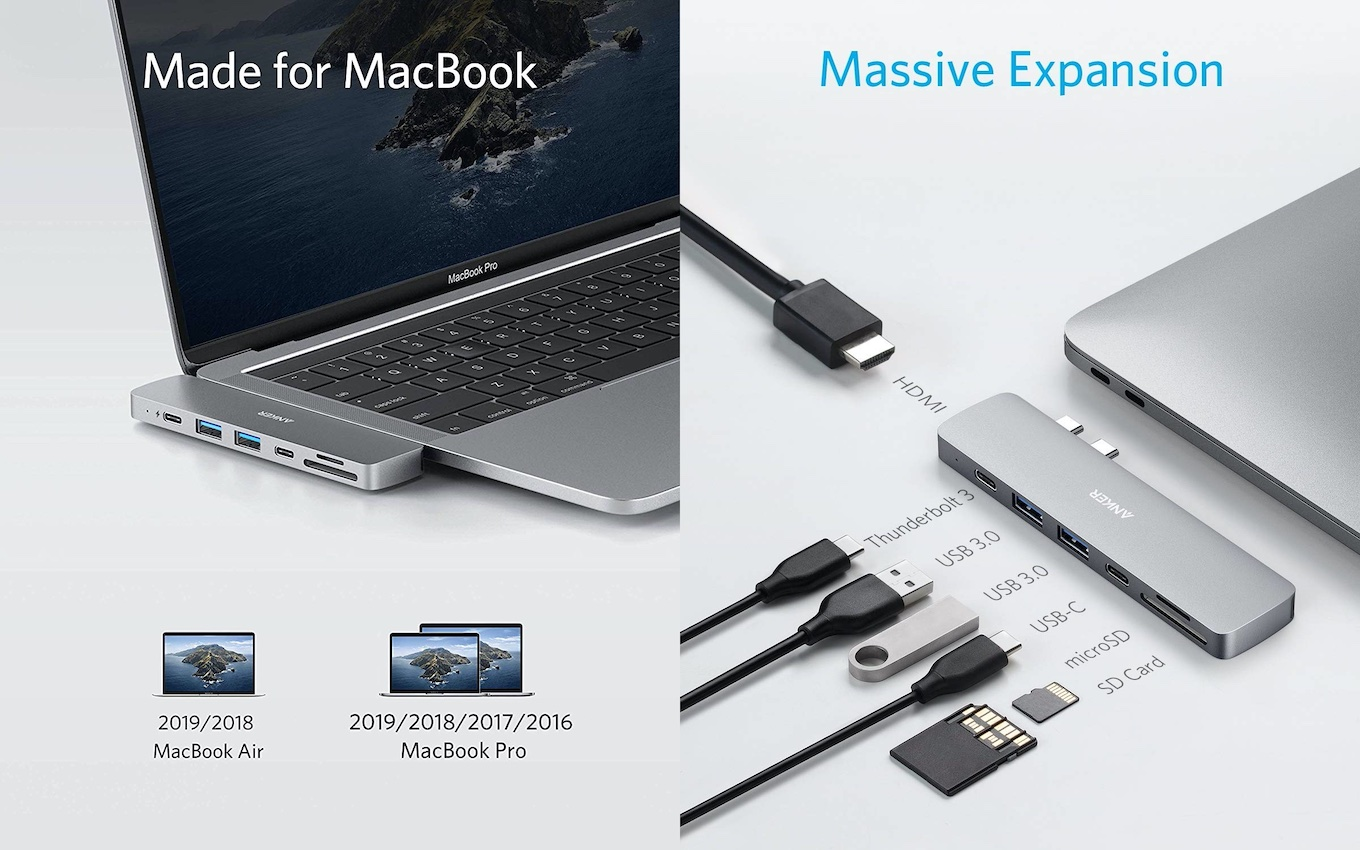 PowerExpand Direct 7-in-2 USB-C Hub