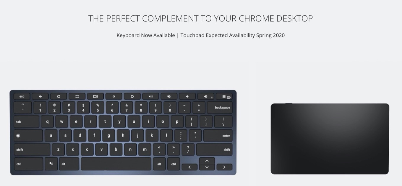BRYDGE C-TOUCH for Chrome OS