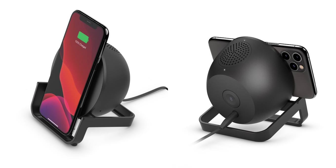 Belkin BOOST CHARGE Wireless Charging Stand Speaker