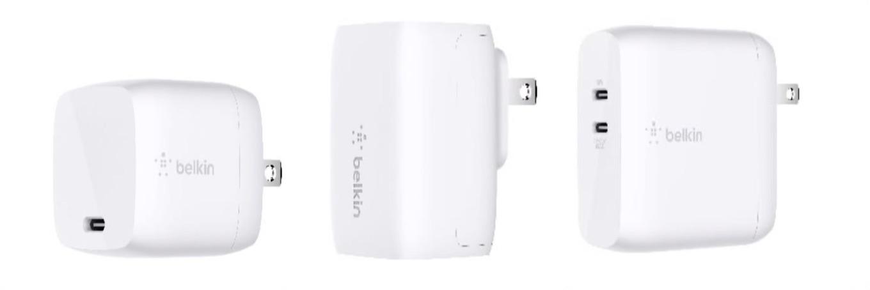 Belkin USB-C GaN Wall Chargers
