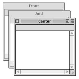 アプリケーションウィンドウの表示をclassicなmac Osのようにしてくれるユーティリティアプリ Front And Center がリリース pl Ch