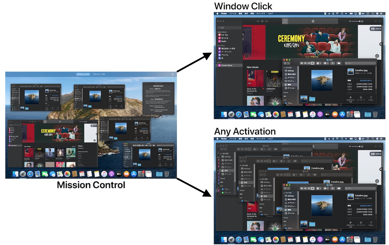 Front and Center v1.2のMission Control