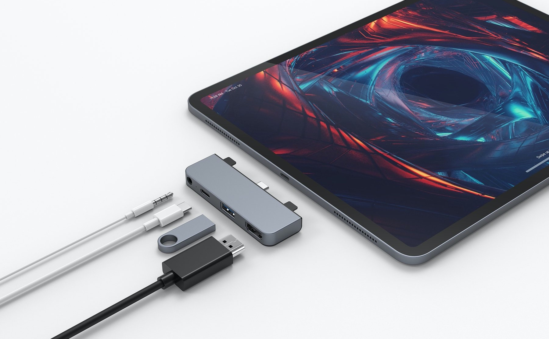 HyperDrive 4-in-1 USB-C Hub