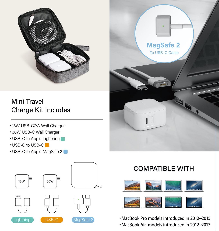 Mini Travel Charge Kit