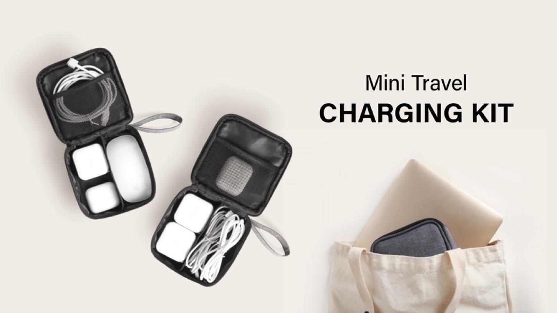 MiPow Mini Travel Charge Kit