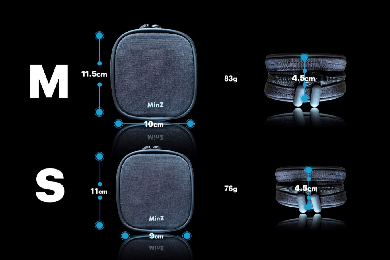 MinZ Adapter Packのサイズ