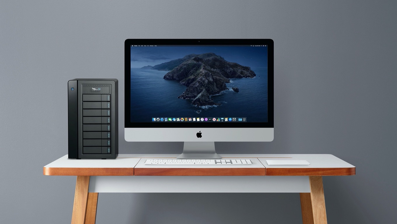 Promise Pegasus32 R8 and iMac