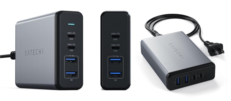 Satechi 108W Pro USB-CPDデスクトップチャージャー