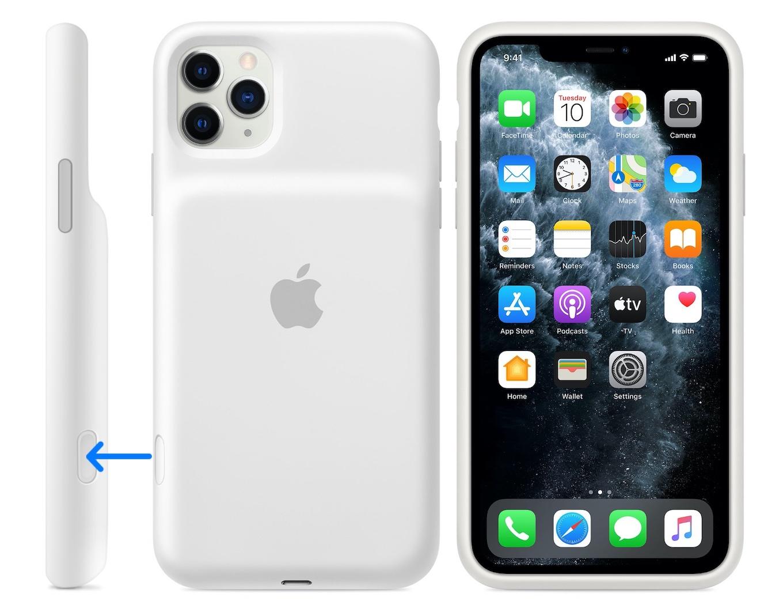 iPhone 11 Smart Battery Case - ソフトホワイト