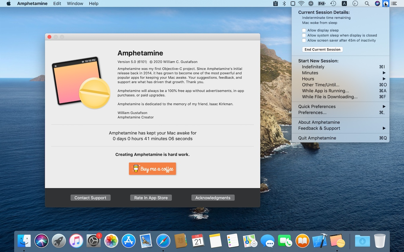 Amphetamine for Mac