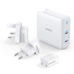 Anker PowerPort III 2-Port 60W with US/UK/EU plugs