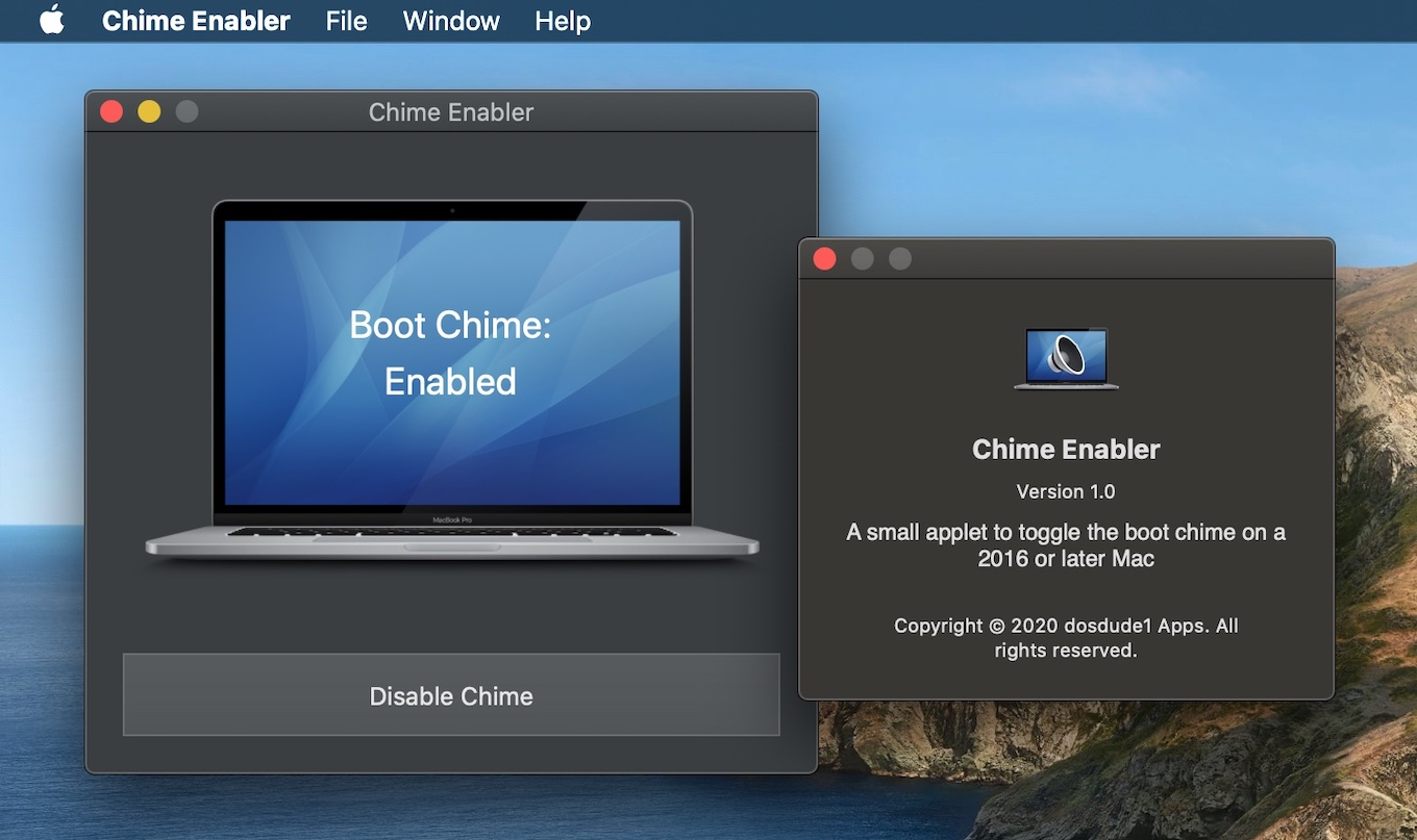 Chime Enabler for Mac