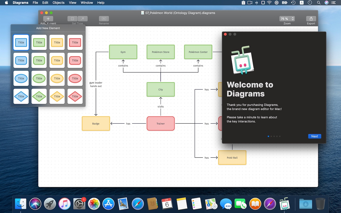 Diagrams for Mac