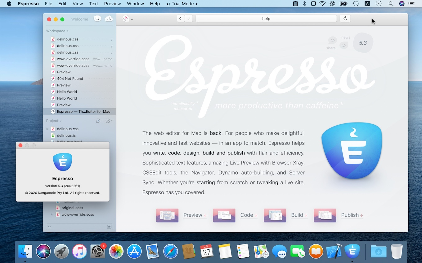 Espresso for Mac v5.3