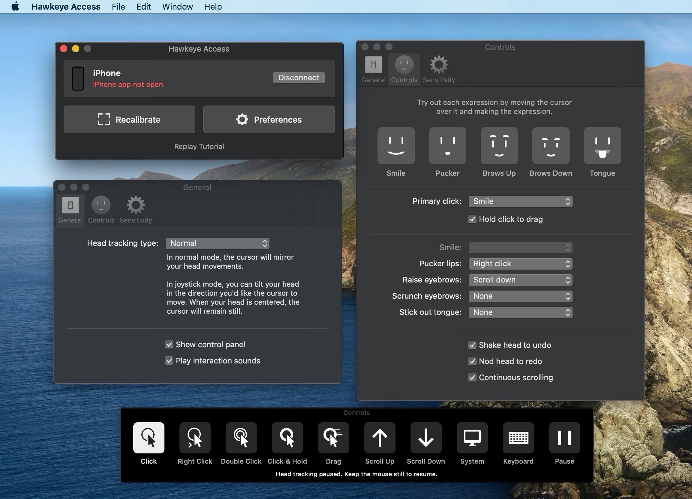 Hawkeye Access for MacとHawkeye Sidekickの設定