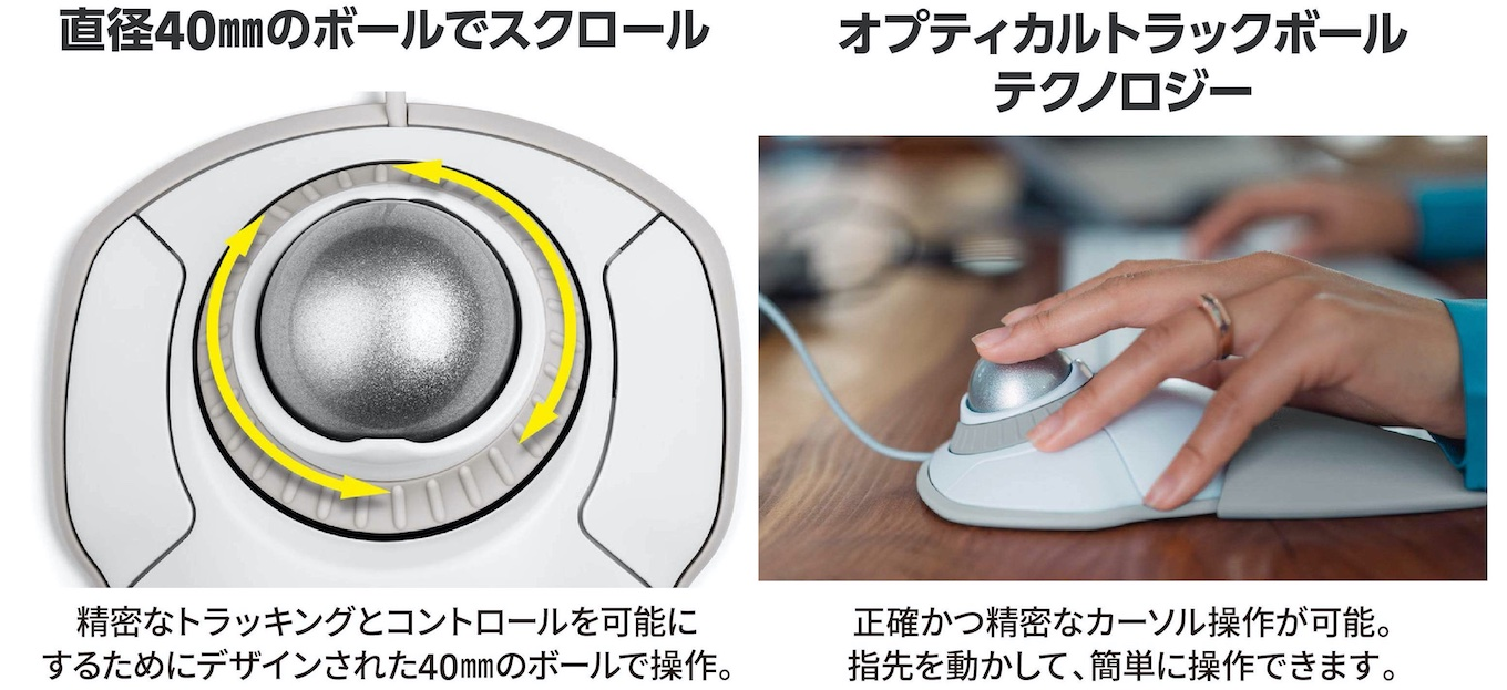 OrbitTrackball with Scroll Ring