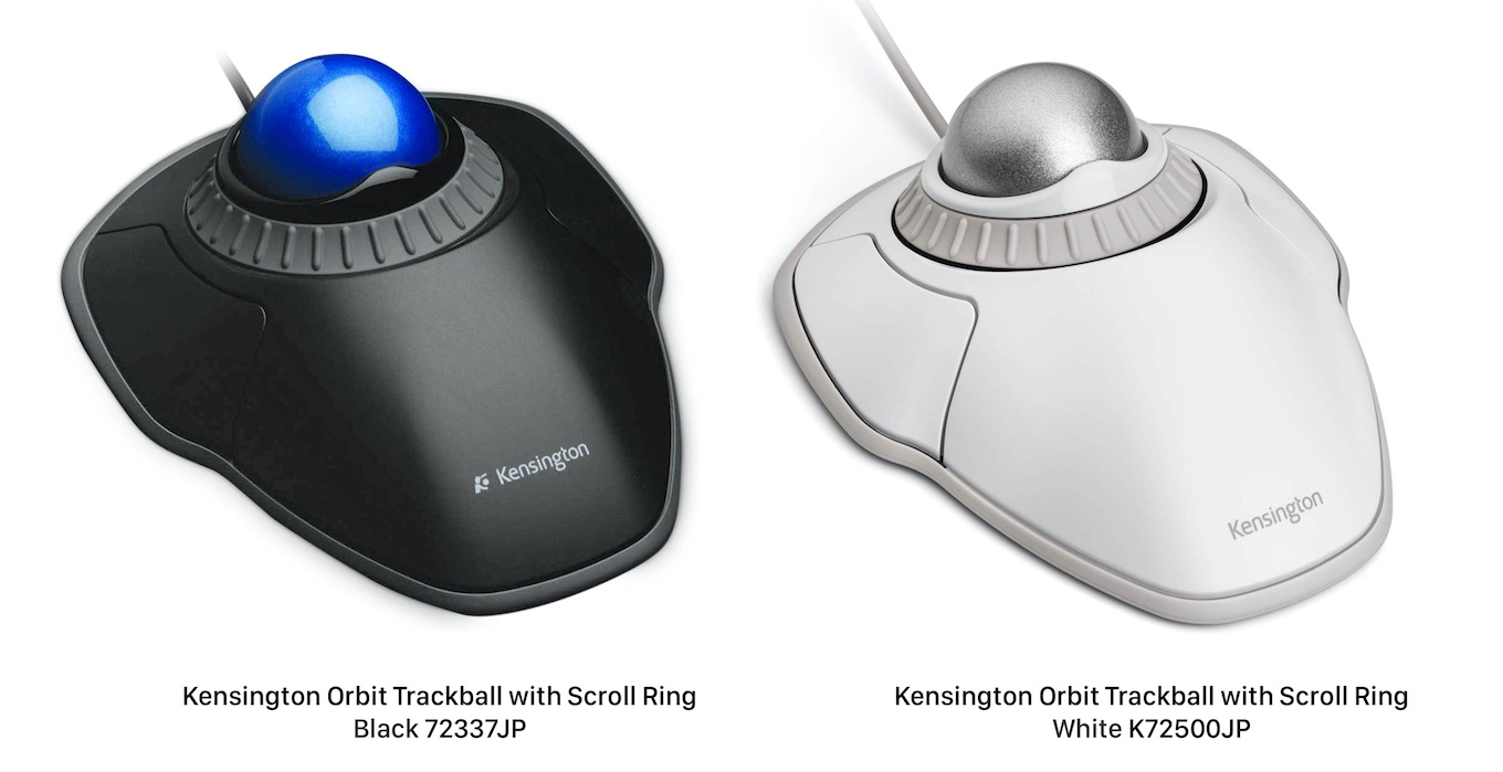 Orbit Trackball with Scroll Ring