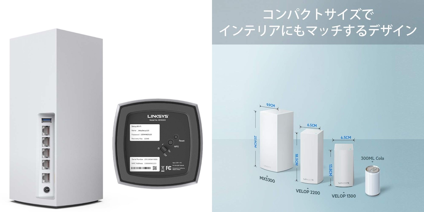 Linksys Velop AX MX5300