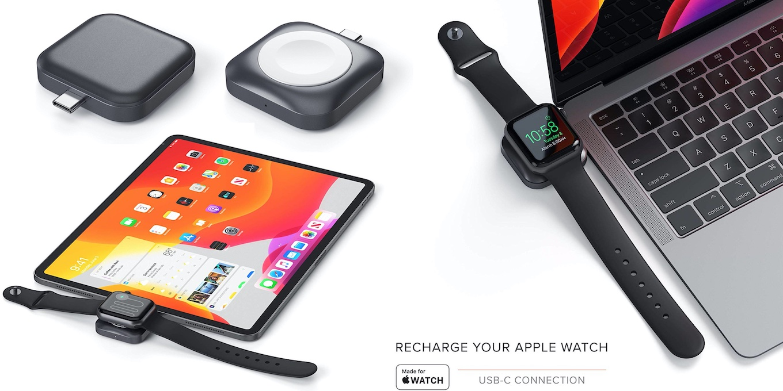 Satechi USB-C Apple Watch 充電ドック