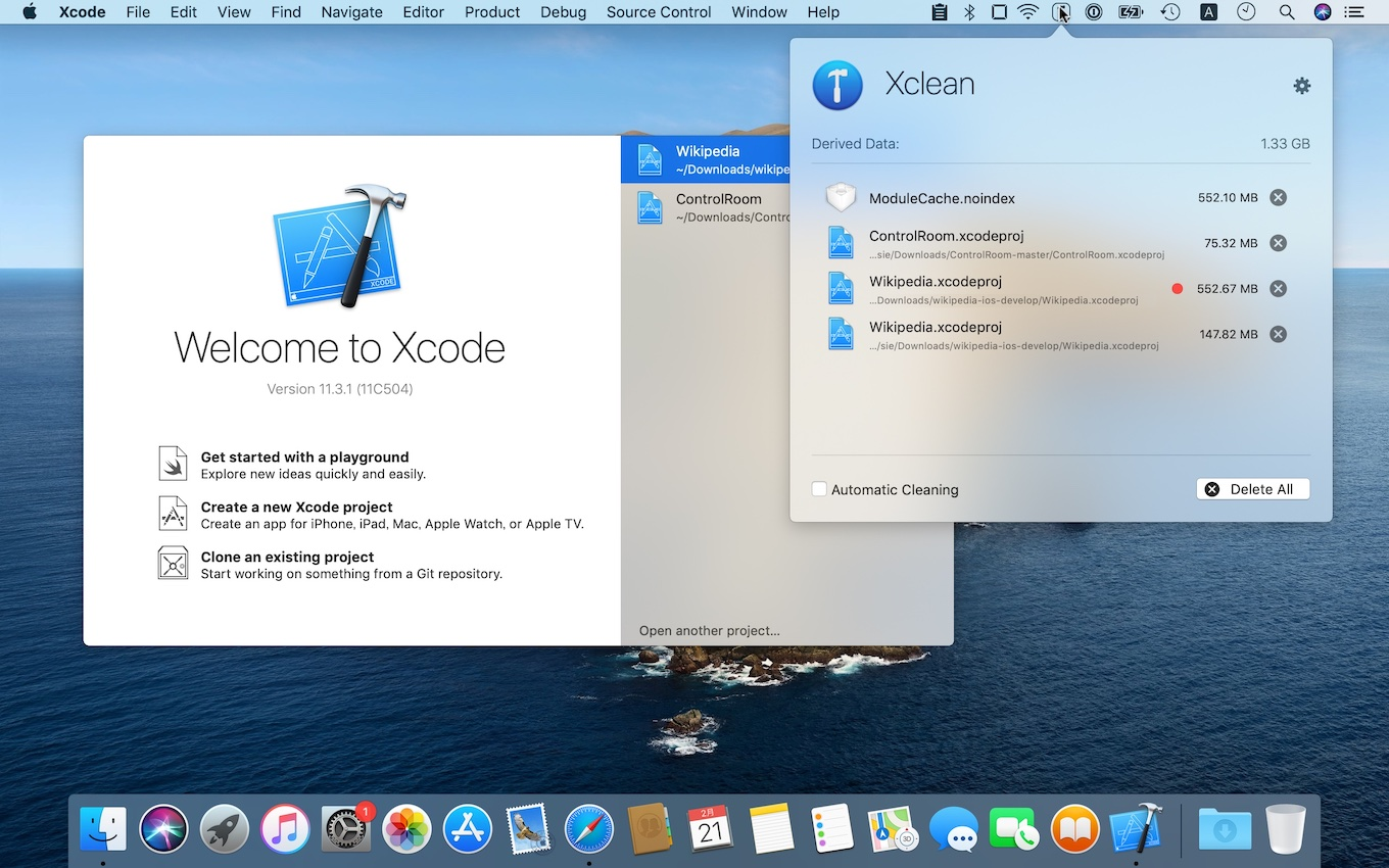 Xclean for Xcode