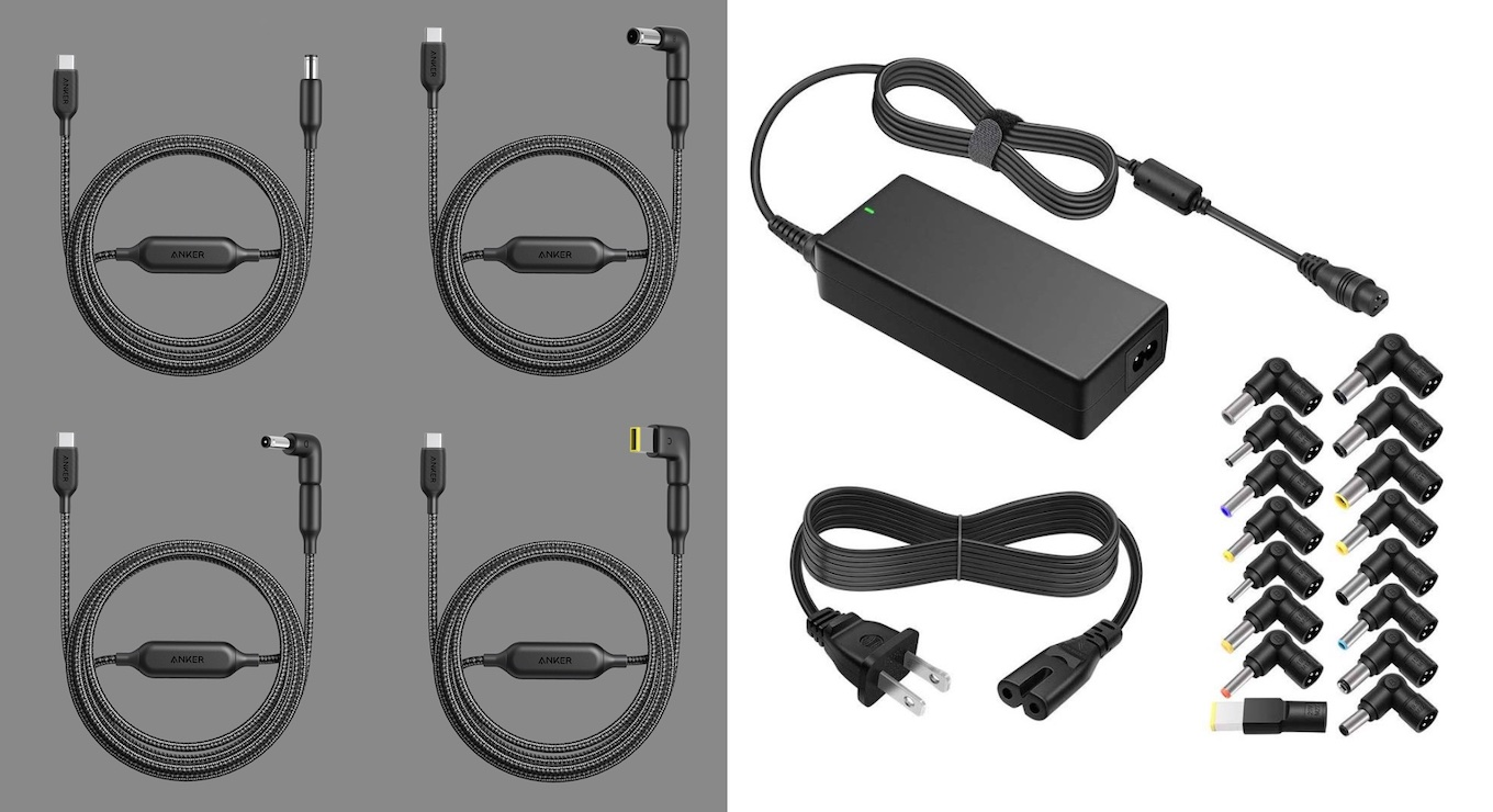 PowerLine USB-C to DC Cableとサードパーティ製品