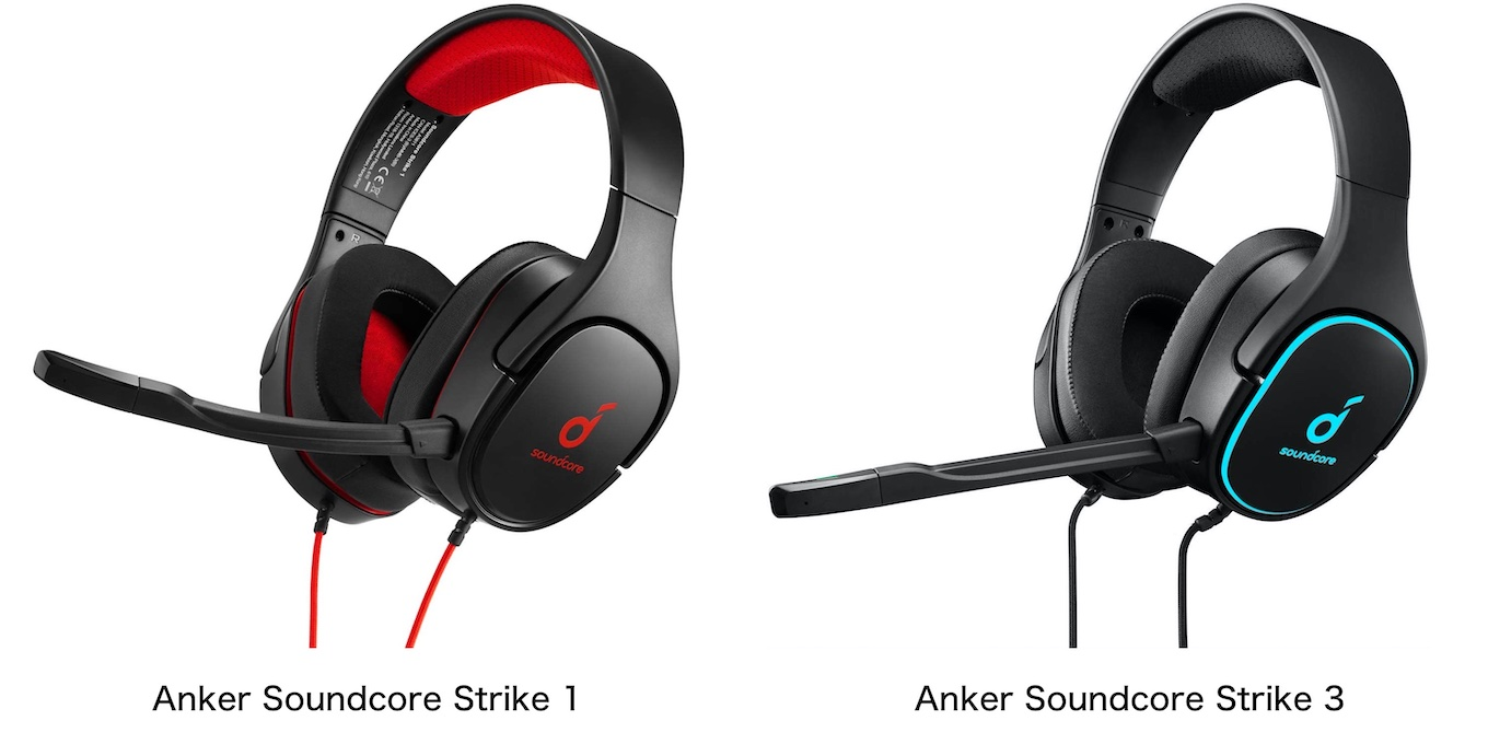 Anker Soundcore Strike 1 and 3 Hero