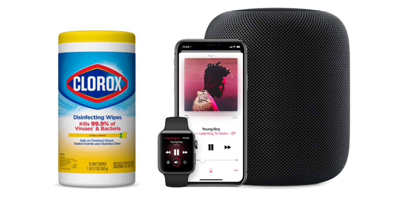 Cleaning and taking care of HomePod