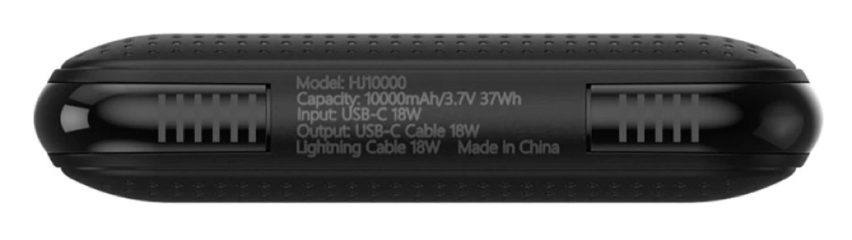HyperJuice USB-C + Lightning Batteryのスペック