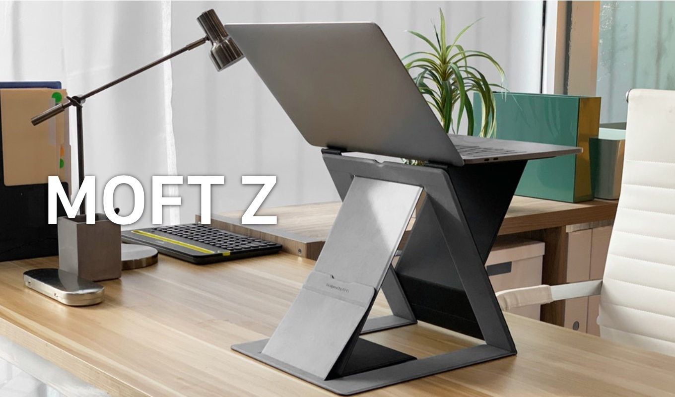 MOFT Z Sit-stand Laptop Desk