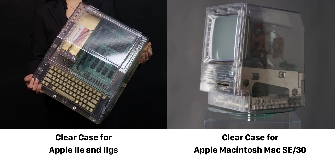Clear Case for Apple IIe and IIgs