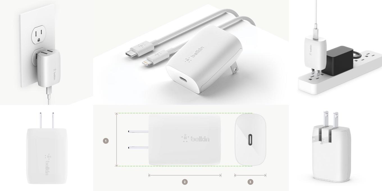 BOOST↑CHARGE™ USB充電器(18W USB-C™、USB-C to ライトニングケーブル付き)