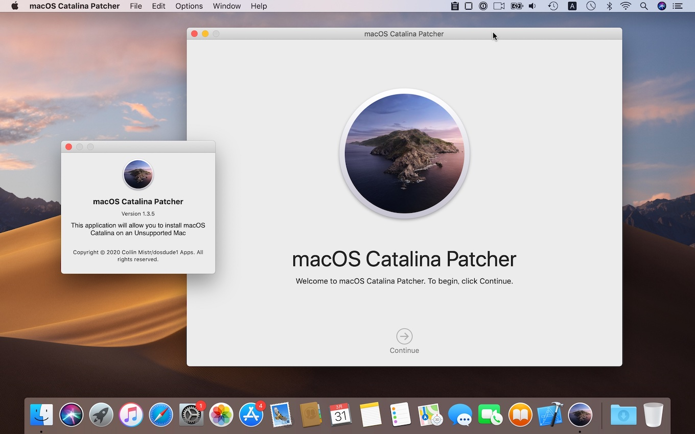 macOS Catalina Patcher
