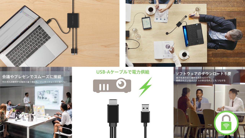Belkin Multiport to HDMI Digital AV アダプタ