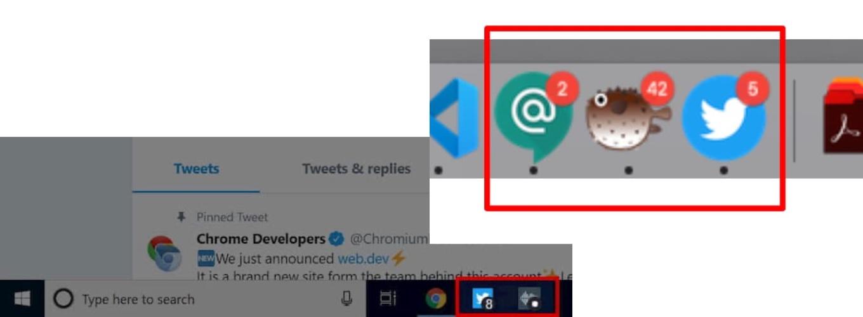 Google Chrome v81 Badging API