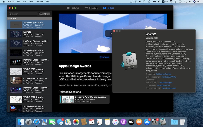 WWDC for macOS v6.2