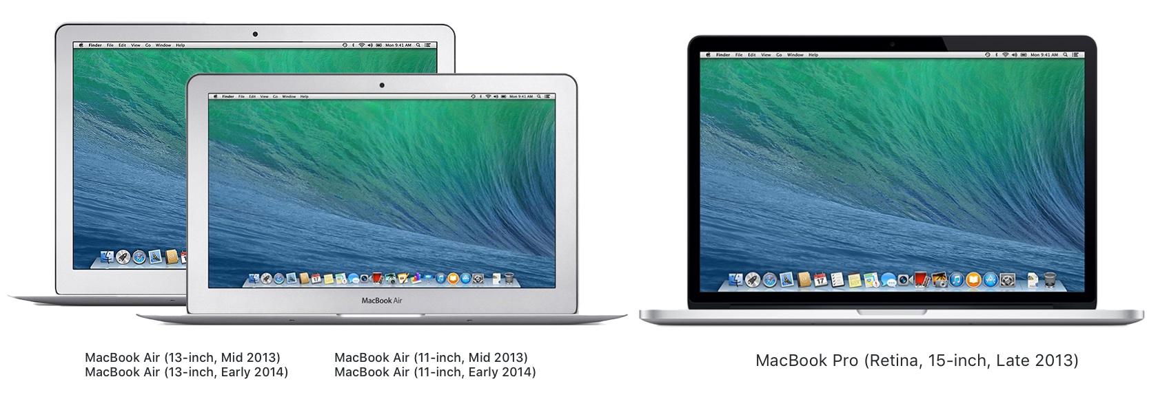 2020年04月30日にビンテージ製品に追加されたMacBook Air/Pro