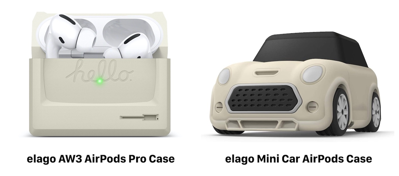 elago AW3 AirPods Pro Case and Mini Car AirPods Case