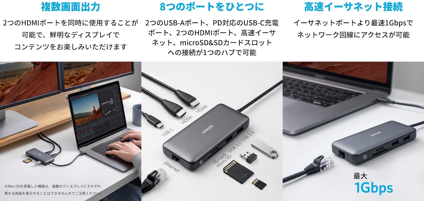 Anker PowerExpand 8-in-1 USB-C PD Hub