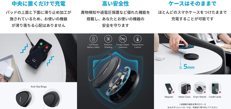 Anker PowerWave II Pad - Amazon.co.jp