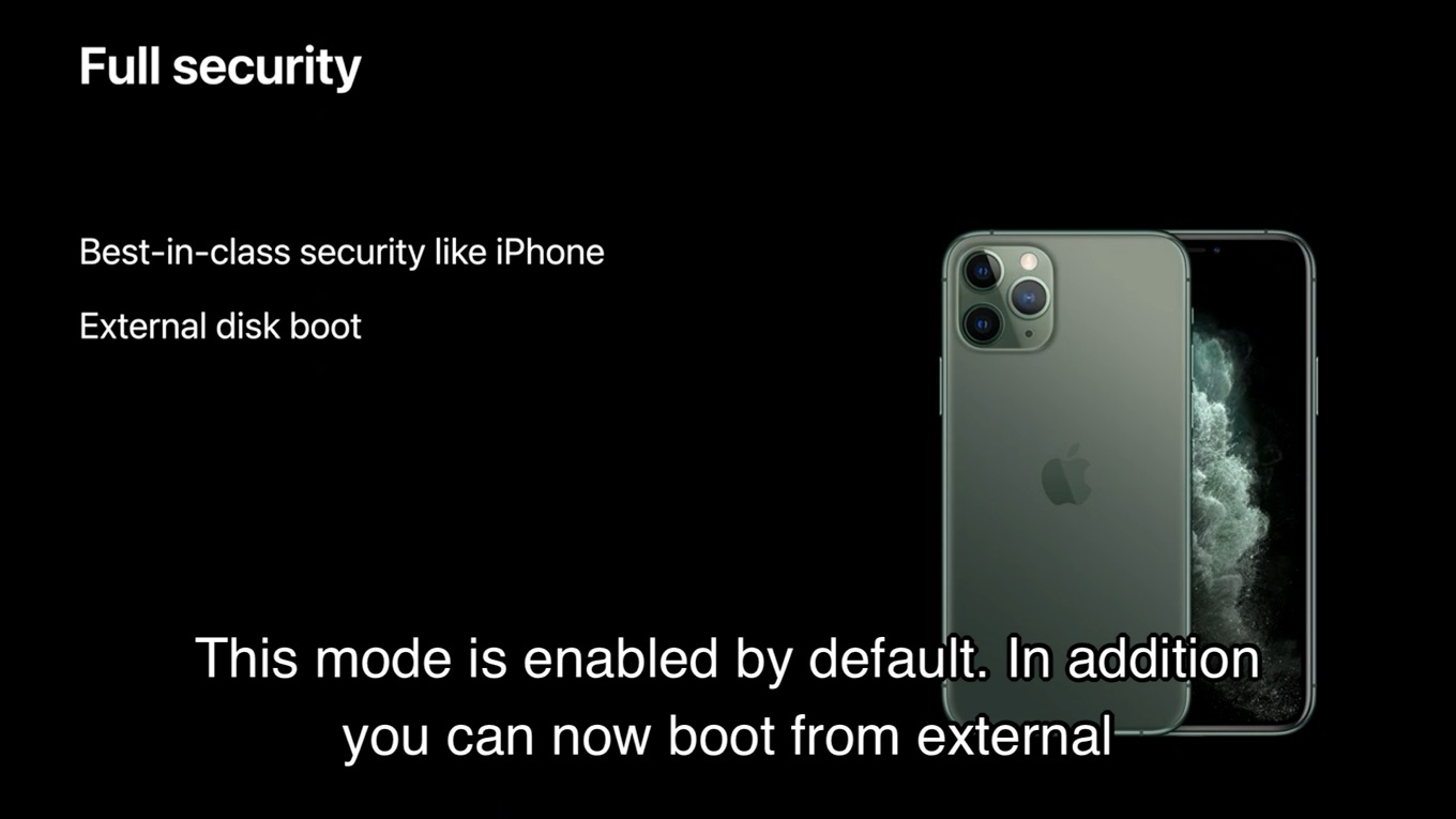 Apple Silicon製MacのFull Security