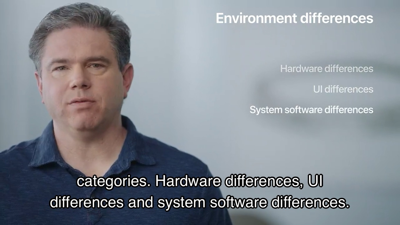 Apple Silicon製MacとiPhoneの環境の違い
